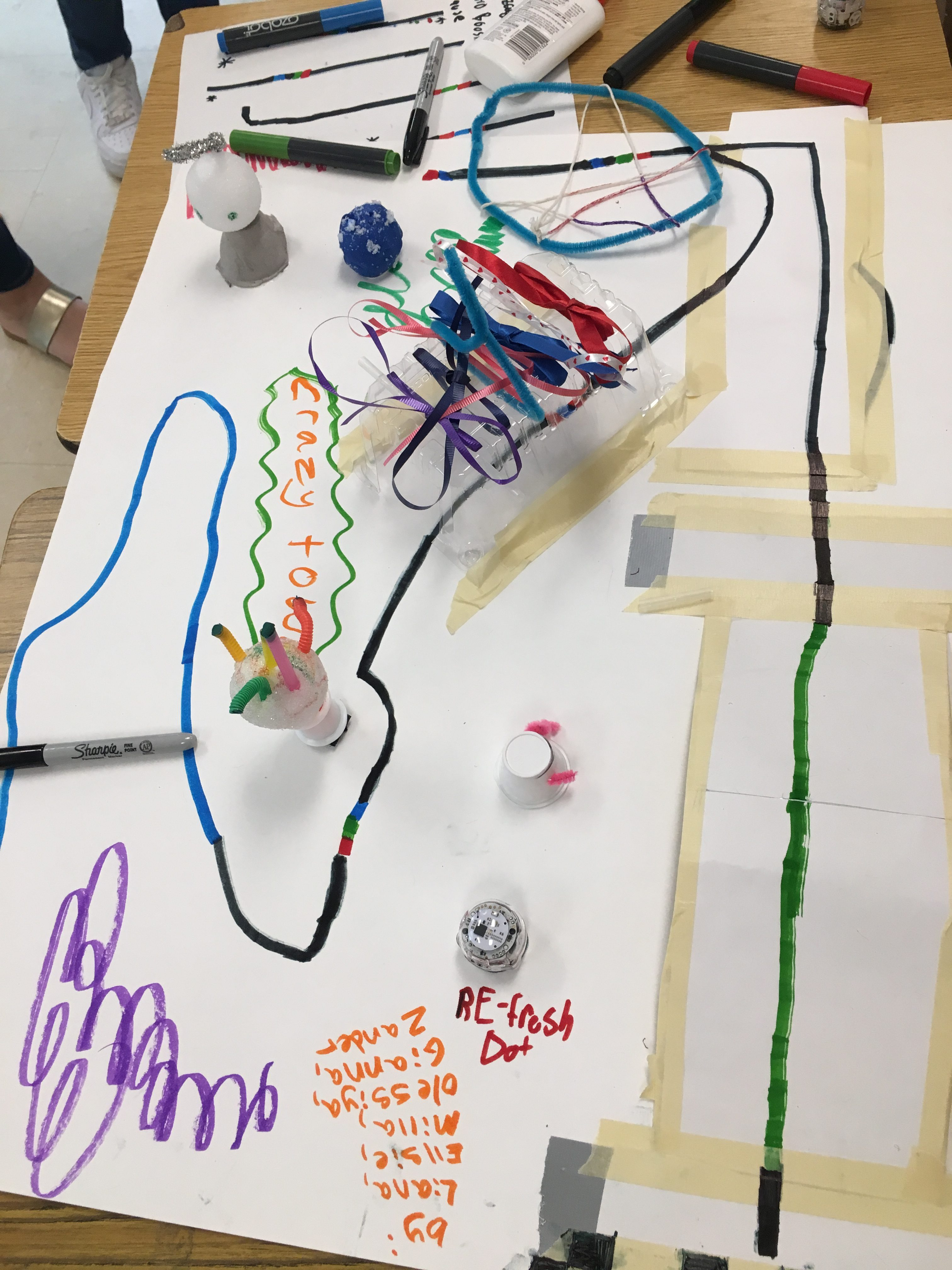 Ozobot Obstacle Course