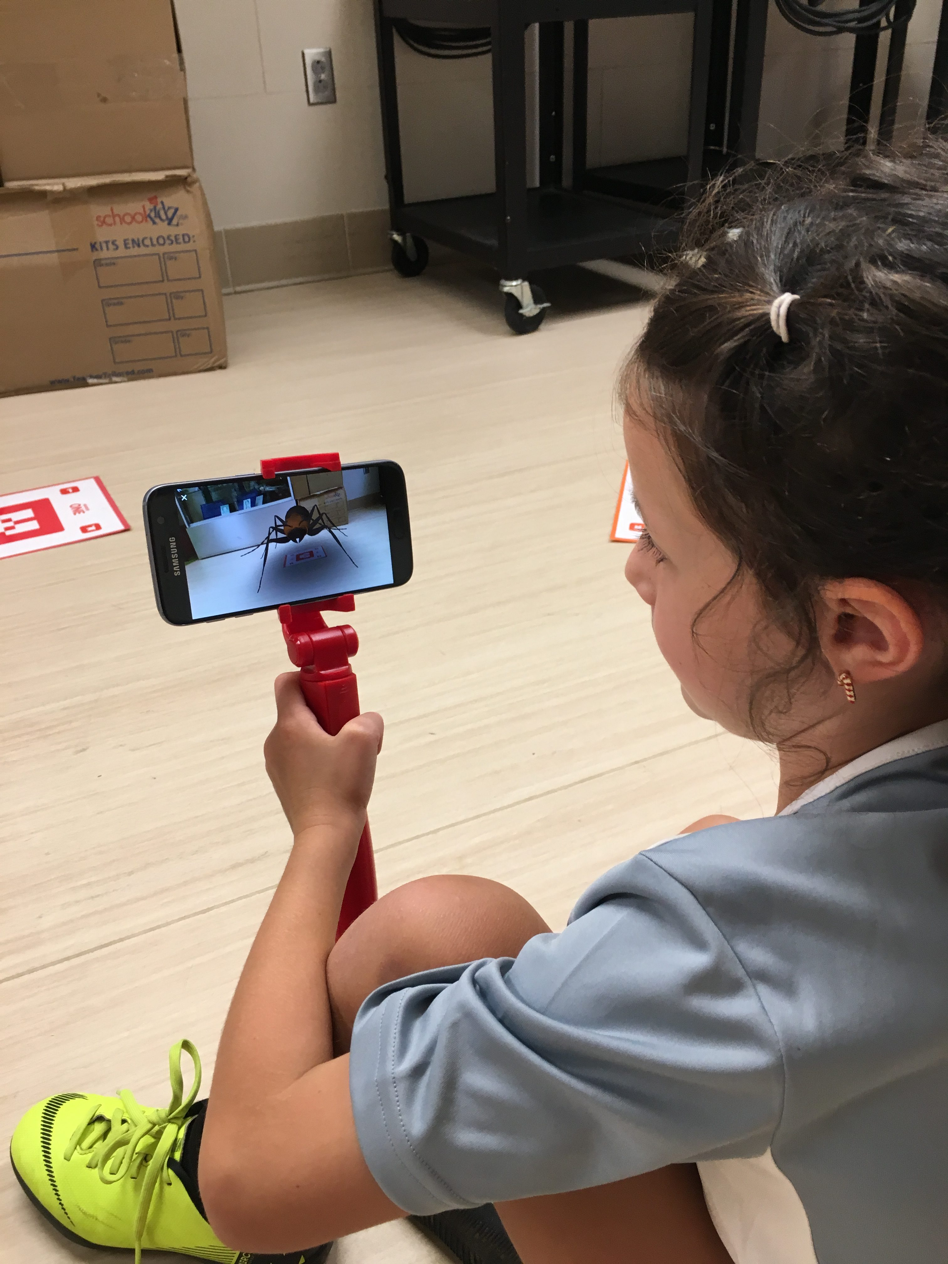 Exploring Augmented Reality